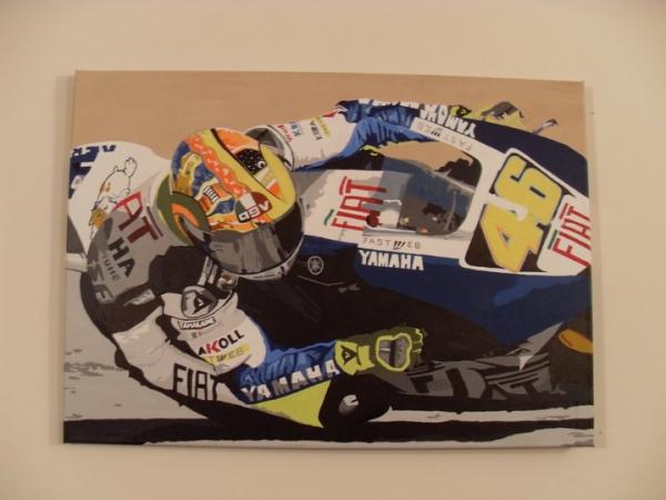 Valentino Rossi by shazlar